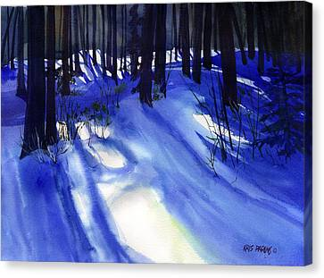 Solstice Shadows Canvas Print by Kris Parins