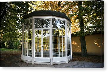 Sound Of Music Gazebo Canvas Print