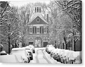 South Street Headhouse  Canvas Print by Andrew Dinh