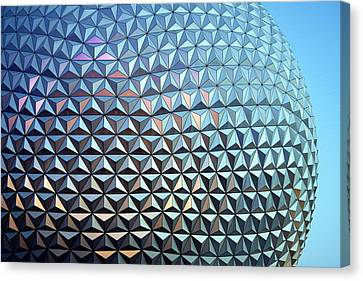 Canvas Print featuring the photograph Spaceship Earth by Cora Wandel
