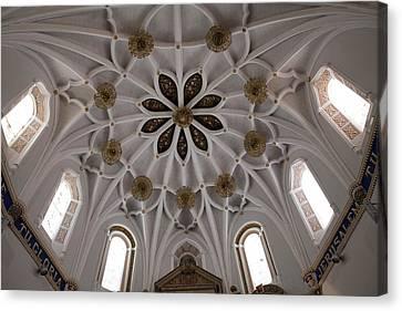 Spain. Teruel. Estercuel. Monasterio De Canvas Print by Everett