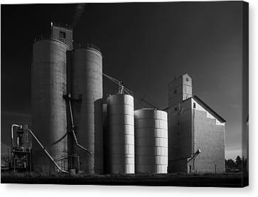 Spangle Grain Elevator Canvas Print