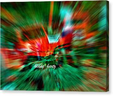 Welt Canvas Print - Spass by Klaas Hartz