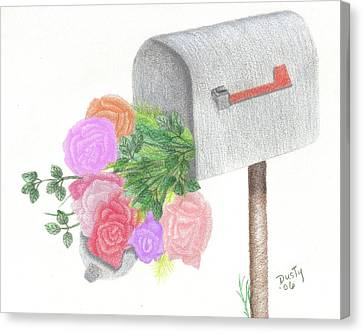 Special Delivery Canvas Print by Dusty Reed