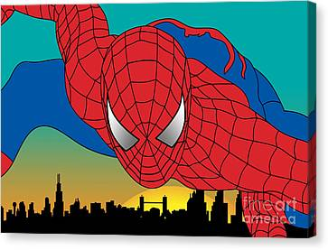 Spiderman  Canvas Print by Mark Ashkenazi