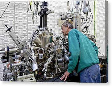 Spin-sem Equipment Canvas Print by Ibm Research