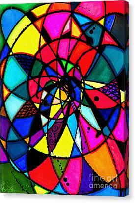 Spiral Canvas Print