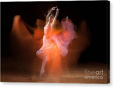 Spirit Dance Canvas Print by Cindy Singleton
