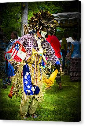 Spirit Dancer Canvas Print by Andrea Floyd