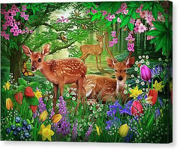 Spirit Of Spring Canvas Print