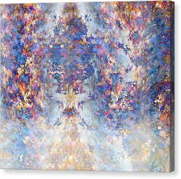 Spiritual Torrents Canvas Print by Christopher Gaston