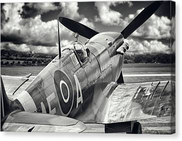 Spitfire Canvas Print by Ian Merton