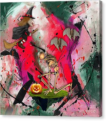 Spooky Canvas Print by Marvin Blaine