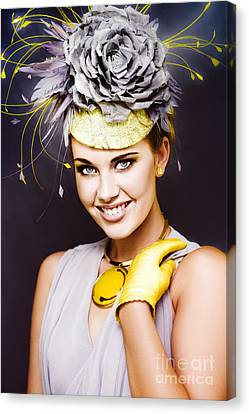 Spring Carnival Beauty Canvas Print