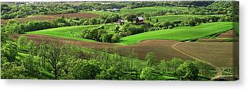 Spring In The Mississippi River Valley Canvas Print by Panoramic Images
