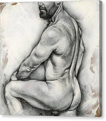 Square Composition 5 Canvas Print by Chris Lopez