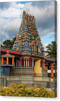 Sri Siva Subramaniya Hindu Temple Canvas Print by Michael Runkel