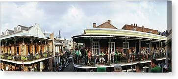St. Patricks Day, Celebration In New Canvas Print by Panoramic Images