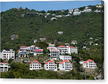 St Thomas Usvi Canvas Print by Amy Cicconi