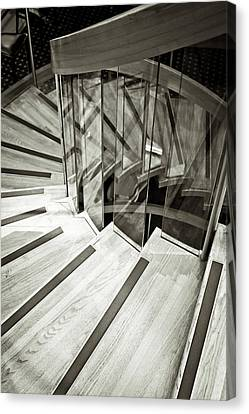 Staircase Canvas Print by Tom Gowanlock