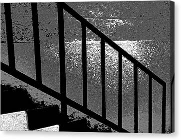 Stairs Canvas Print by Lenore Senior