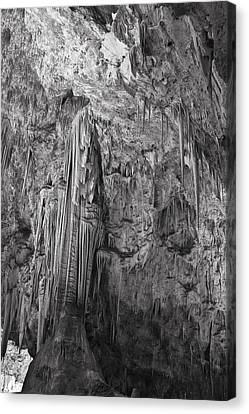 Stalactites In The Hall Of Giants Canvas Print