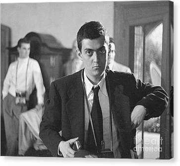 Kubrick Canvas Print - Stanley Kubrick 1949 by The Harrington Collection