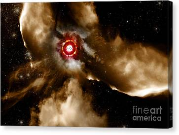 Star Dust Of Supernova Canvas Print by Jorgo Photography - Wall Art Gallery