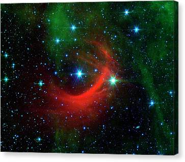 Star Shock Wave Canvas Print