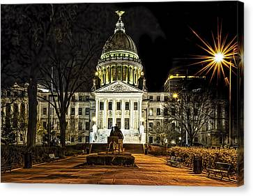 State Capitol Canvas Print