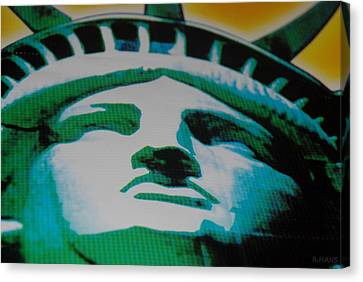 Statue Of Liberty  Canvas Print by Rob Hans