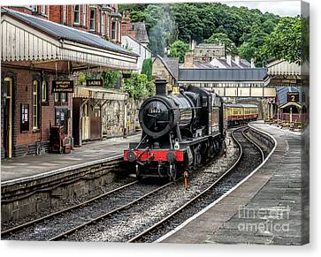 Steam Train Canvas Print by Adrian Evans