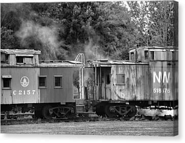 Steam Train Canvas Print by Dan Sproul