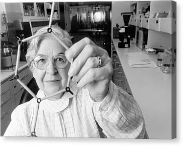 Stephanie Kwolek Canvas Print by Hagley Museum And Archive