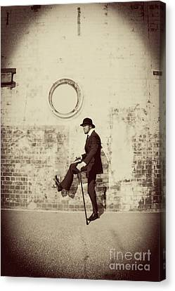 Stepping Into The Past Canvas Print by Jorgo Photography - Wall Art Gallery