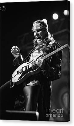 Guitarist Steve Vai Canvas Print by Concert Photos