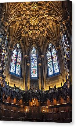 St.giles Cathedral Canvas Print by Svetlana Sewell