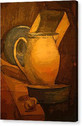 Still Life Canvas Print by Jolanta Erlate