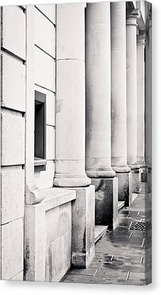 Stone Pillars Canvas Print