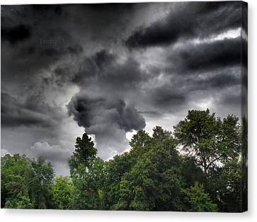 Storm Chasers  Canvas Print by Tammy Cantrell