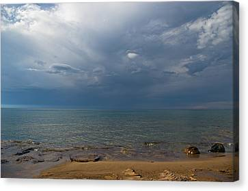 Storm Over Lake Superior Canvas Print