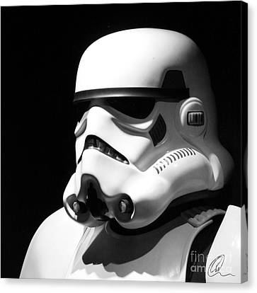 Stormtrooper Canvas Print by Chris Thomas