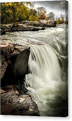 Stormy Waters Canvas Print by Douglas Pike