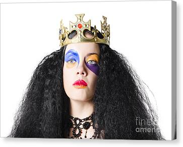 Sombre Canvas Print - Storybook Queen by Jorgo Photography - Wall Art Gallery
