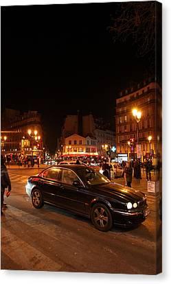 Street Scenes - Paris France - 011319 Canvas Print