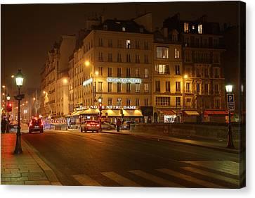 Chairs Canvas Print - Street Scenes - Paris France - 011326 by DC Photographer