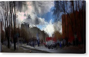 Streetlights 2 Canvas Print