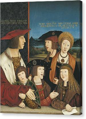 Strigel, Bernhard 1460-1528. Emperor Canvas Print by Everett