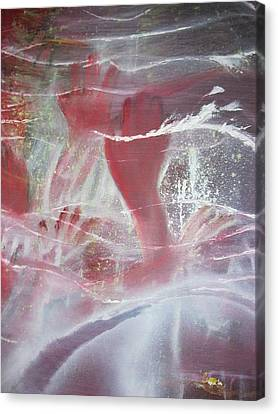 String Theory - Praise Canvas Print by Carrie Maurer