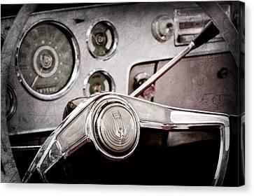 Studebaker Steering Wheel Emblem Canvas Print